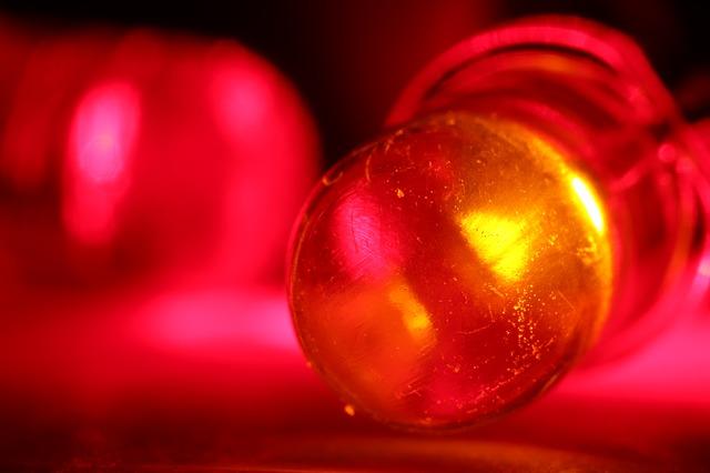 červená dioda
