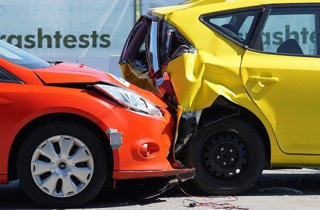 crash test nárazu