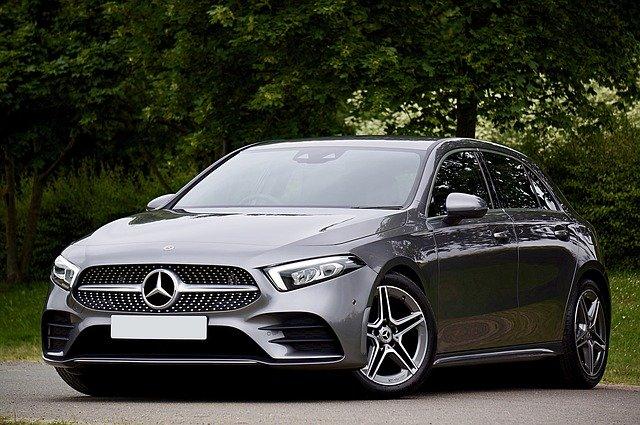 auto značky Mercedes-Benz třídy A